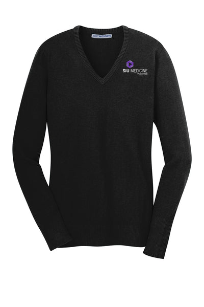 SIU Medicine Pediatrics Ladies VNeck Sweater