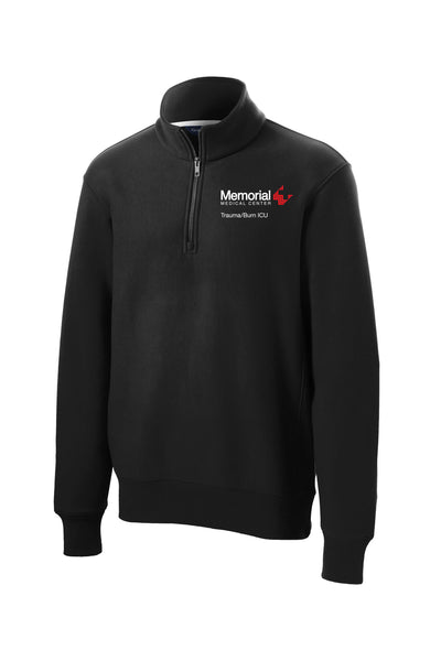 Memorial Burn ICU Unisex Sport Tek Heavyweight Quarter Zip (ST283)