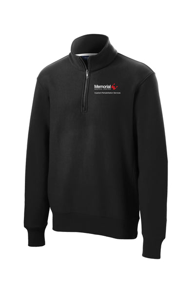 Memorial 3B Inpatient Rehabilitation Services Unisex Sport Tek Heavyweight Quarter Zip
