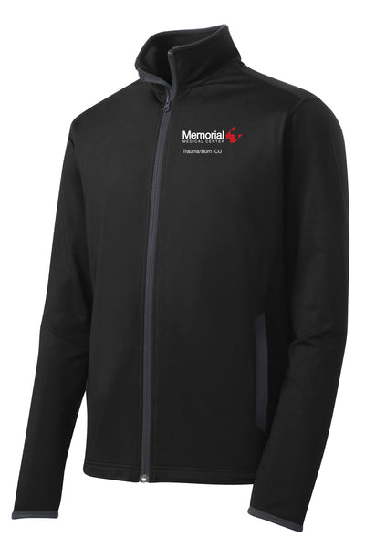 Memorial Burn ICU Unisex Sport Tek Contrast Jacket
