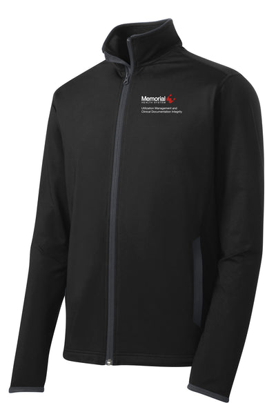 Memorial Utilization Management Unisex Sport Tek Contrast Jacket