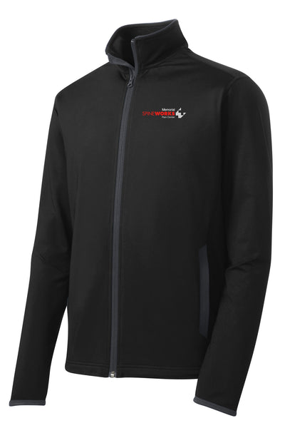 Memorial Spine Works Pain Center Unisex Sport Tek Contrast Jacket