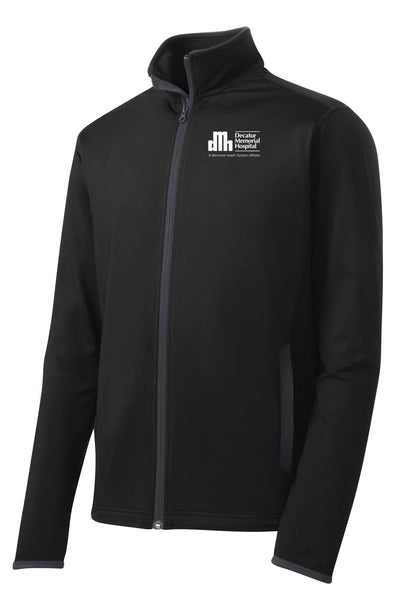 Decatur Memorial Hospital Unisex Sport Tek Contrast Jacket (E.SPTST853)