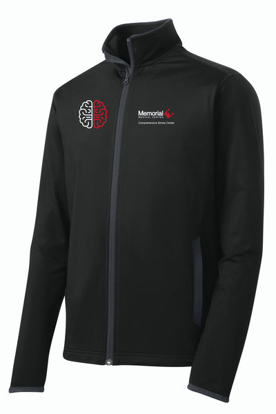 Memorial Stroke Center Unisex Sport Tek Contrast Jacket