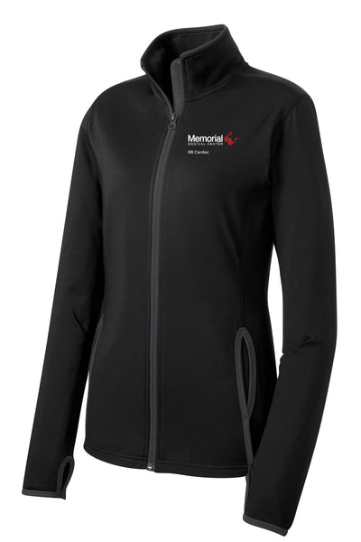 Memorial 6B Cardiac Ladies Sport-Tek Contrast Jacket