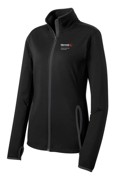 Memorial Nursing Outcomes Improvement Ladies Sport-Tek Contrast Jacket