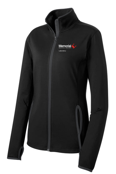 Memorial Laboratory Ladies Sport-Tek Contrast Jacket