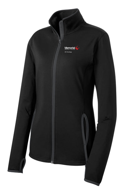 Memorial 2E Oncology Ladies Sport-Tek Contrast Jacket