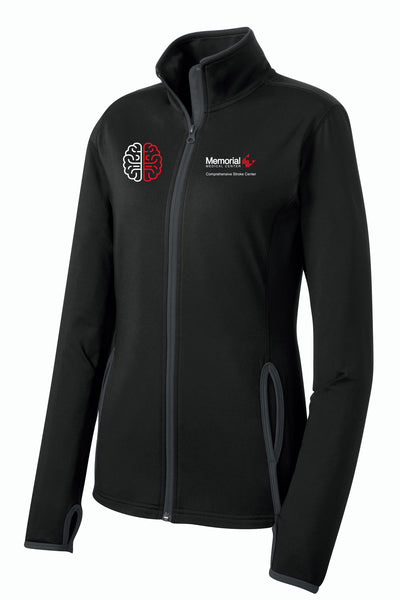 Memorial Stroke Center Ladies Sport-Tek Contrast Jacket