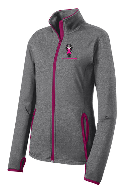 Memorial Mammography Ladies Sport-Tek Contrast Jacket