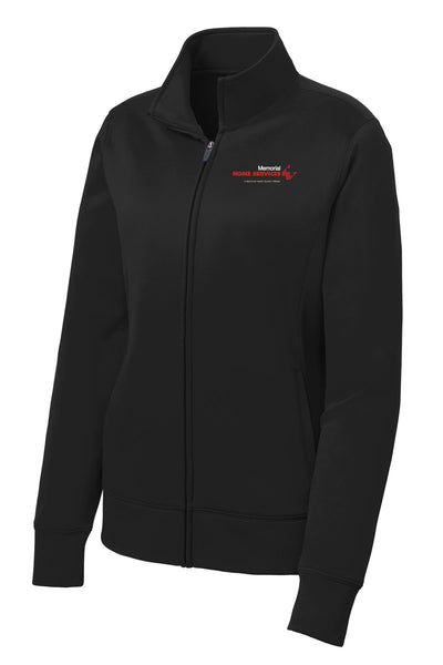 Memorial Home Services Ladies Sport Tek Fleece Jacket (E.LST241)