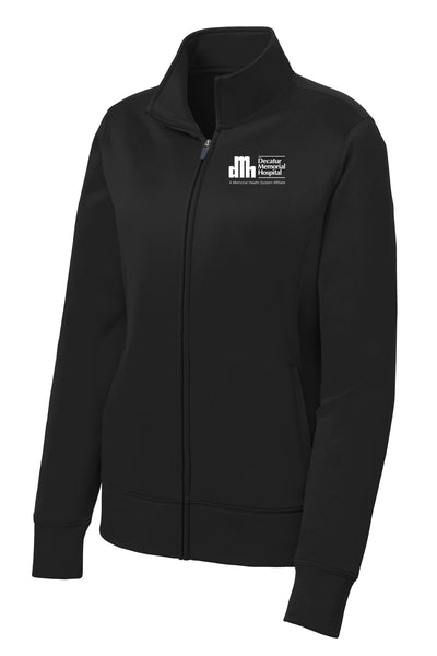 Decatur Memorial Hospital Ladies Sport Tek Fleece Jacket (E.SPTLST241)