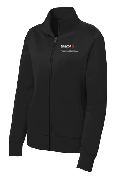 Memorial Utilization Management Ladies Sport Tek Fleece Jacket
