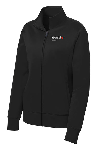 Memorial Security  Ladies Sport Tek Fleece Jacket