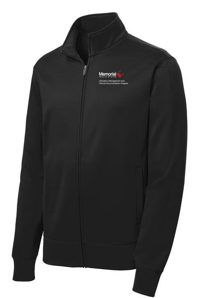 Memorial Utilization Management Unisex Sport Tek Fleece Jacket