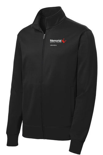 Memorial Laboratory Unisex Sport Tek Fleece Jacket