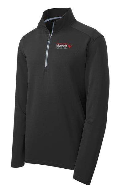 Abraham Lincoln Memorial Hospital Unisex Sport Tek Textured Quarter Zip (E.SPTST860)