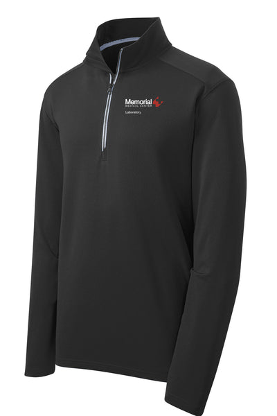 Memorial Laboratory Unisex Sport Tek Textured Quarter Zip