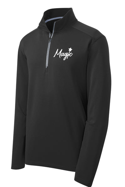 Central IL Magic Softball Unisex Sport Tek Textured Quarter Zip