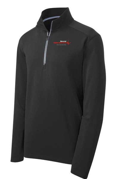 Memorial Home Services Unisex Sport Tek Textured Quarter Zip (E.ST860)