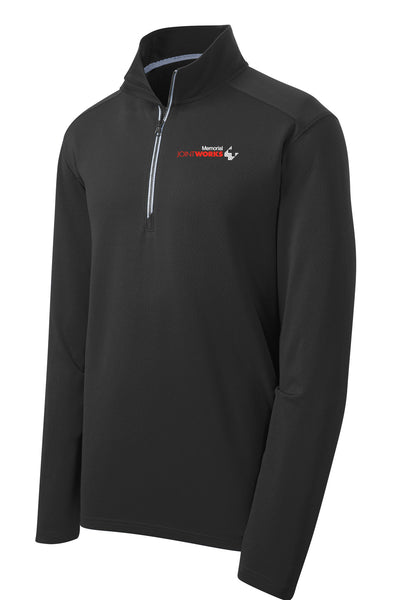 Memorial Joint Works Unisex Sport Tek Textured Quarter Zip