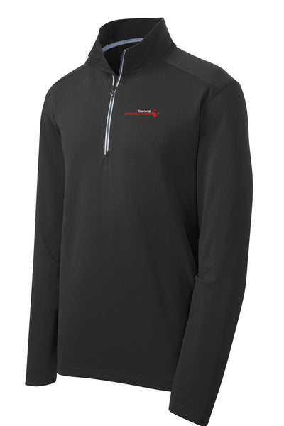 Memorial Behavioral Health Unisex Sport Tek Textured Quarter Zip