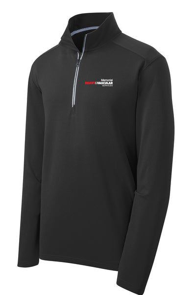 Memorial Heart & Vascular Unisex Sport Tek Textured Quarter Zip