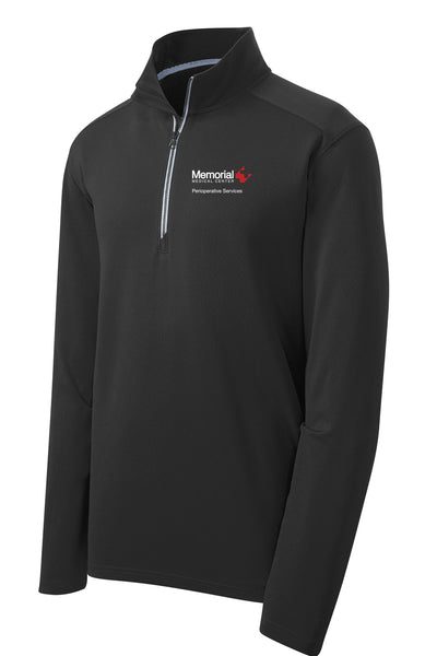 Memorial Perioperative Services Unisex Sport Tek Textured Quarter Zip
