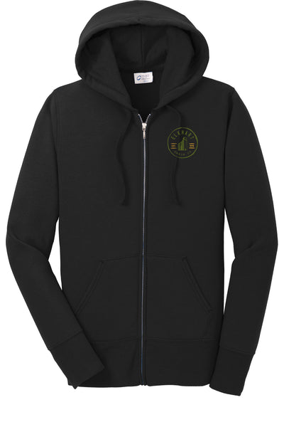 Elkhart Grain Co Fleece Full Zip Hooded Sweatshirt (E.PC78ZH)