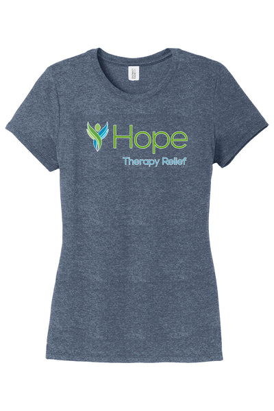 HOPE THERAPY RELIEF Ladies Crew T-Shirt