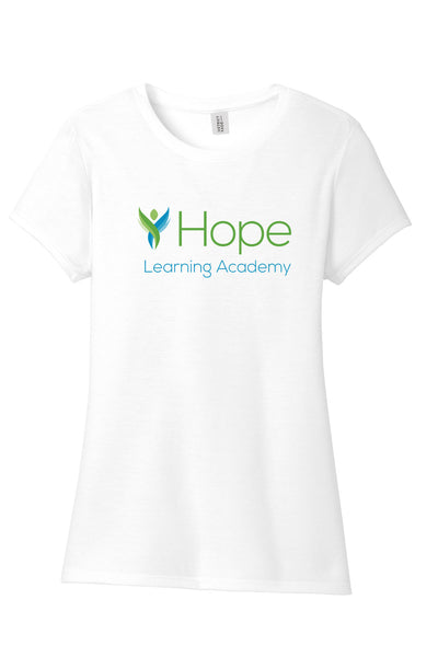 HOPE LEARNING ACADEMY CHICAGO Ladies Crew Tshirt