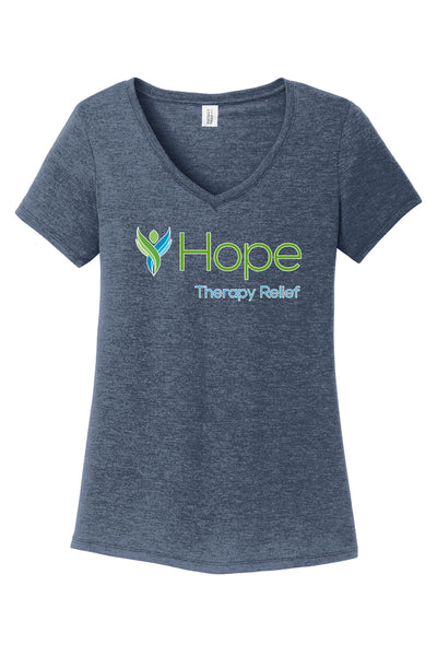 HOPE THERAPY RELIEF Ladies V-Neck Tee