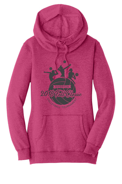 Riverton Volleyball Classic Ladies District Hoodie
