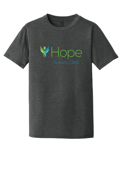 HOPE AUTISM CLINIC Youth Short Sleeve Tshirt