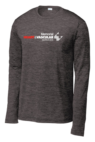 Memorial Heart & Vascular Unisex Long Sleeve Performance Shirt (P.ST390LS)