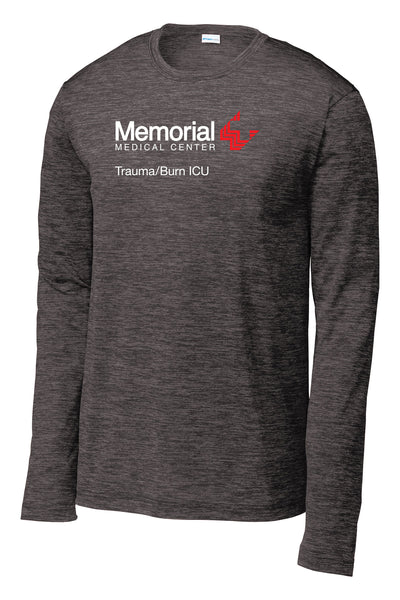 Memorial Burn ICU Unisex Long Sleeve Performance Shirt