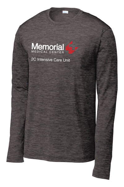 Memorial 2C ICU Unisex Long Sleeve Performance Shirt