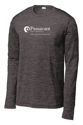 Passavant Area Hospital Unisex Long Sleeve Performance Shirt (P.ST390LS)