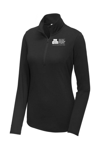 Decatur Memorial Hospital Ladies Quarter Zip (E.LST407)