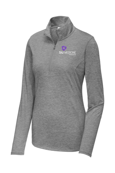 SIU Medicine Pediatrics Ladies Quarter Zip (E.LST407)