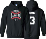 Athens Baseball Mom (Black)