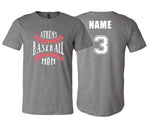 Athens Baseball Mom (Gray)