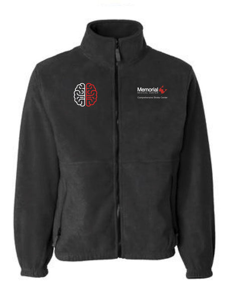 MEMORIAL STROKE CENTER FLEECE SIERRA JACKET