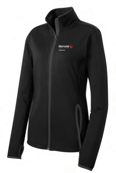 Memorial 2E Medicine Ladies Sport-Tek Contrast Jacket