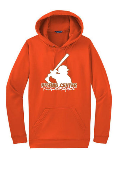 HITTING CENTER SOFTBALL UNISEX PERFORMANCE HOODIE (P.ST.F244)