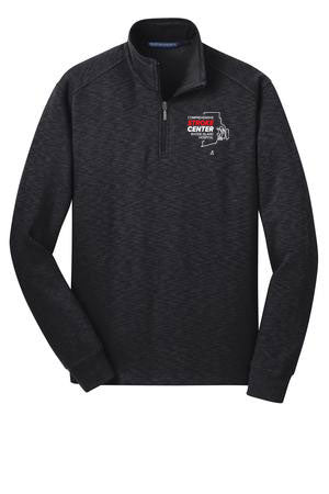 RI Hospital Stroke Center Unisex Port Auth Quarter Zip