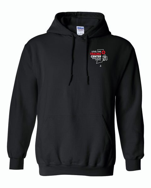 RI Hospital Trauma Unisex Hoodie - EMBROIDERED