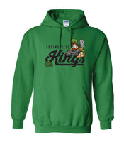 Springfield Kings Hockey Hoody Sweatshirt