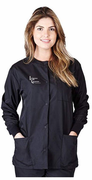 Lackawanna Chiropractic Ladies Scrub Jacket