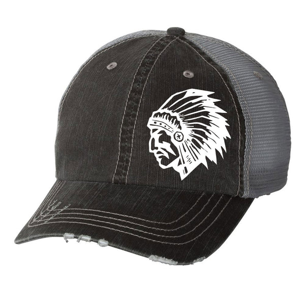 WARRIOR HEAD Vintage Trucker Hat